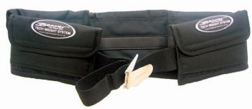 Padded Pouch Type Weight Belt - Beaver Sports - Including Buckle High Quality